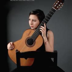 Andrea Salcedo Guitar Recital Poster