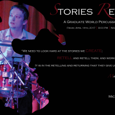 Michael McSweeney World Music Recital Poster