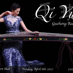 Qi Yu Guzheng Recital Poster